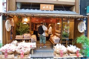 Izumiya Sembei Shop in Asakusa