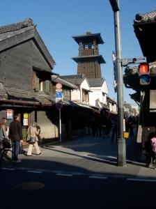 Historic Kawagoe north of Tokyo