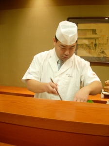 Chef Kimio Nonaga