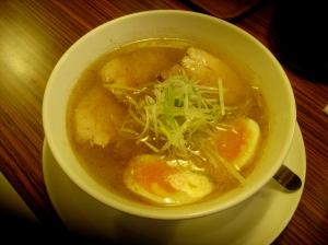 Shio (salt) Ramen