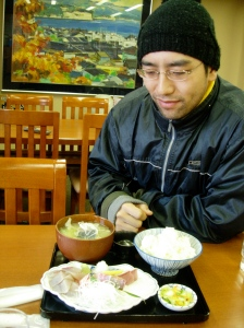 Breakfast in the shokudo