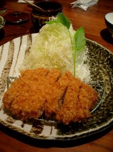 Tonkatsu at Katsukura