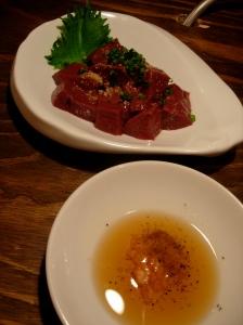 Liver Sashimi