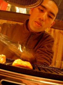 Shinji Grilling