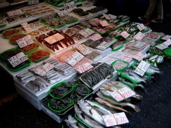 Fishmonger at Ameyoko