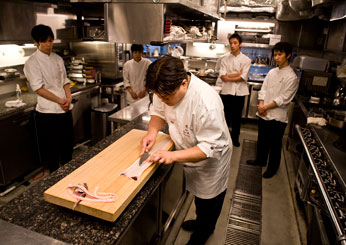 Chef Seiji Yamamoto photo by Jun Takagi