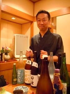 Sake Sommelier Sakamoto-san