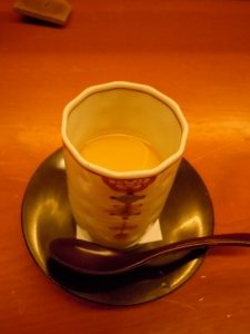 Anago Chawan Mushi 穴子茶碗蒸し