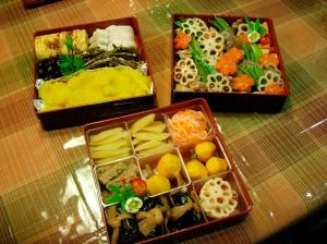 Homemade Osechi Ryori