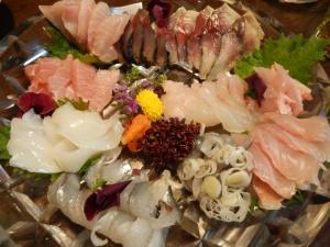 spring sashimi