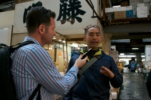 Shinji at Tsukiji Dolinsky 2