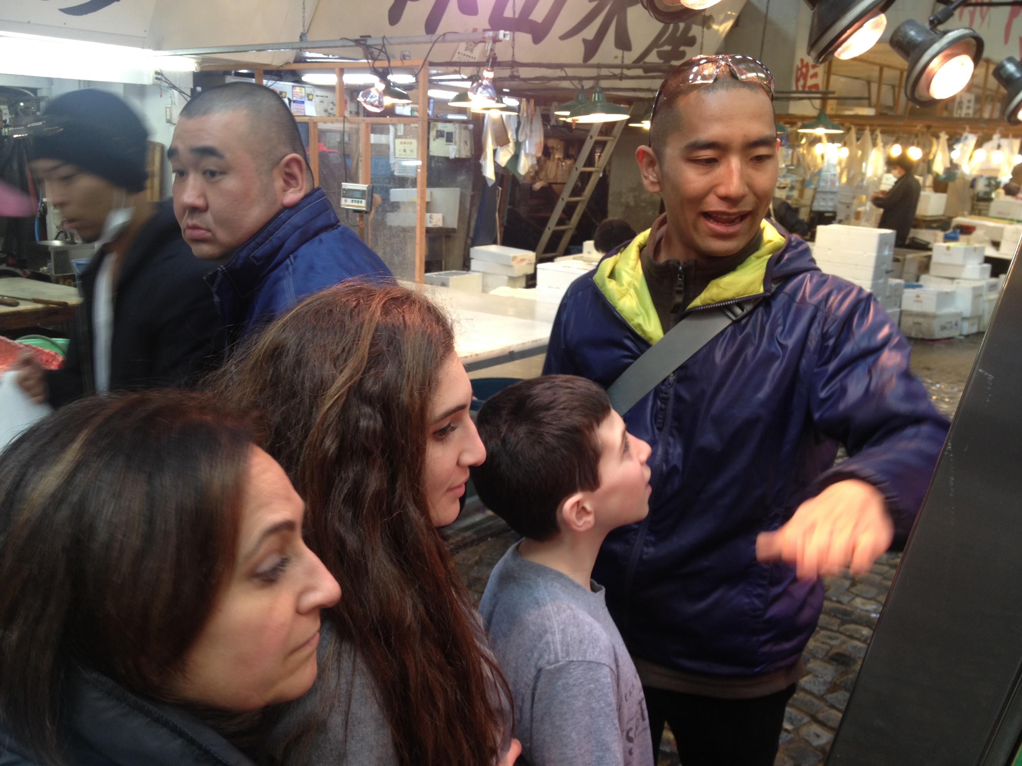 Tokyo Food Tours by Yukari and Shinji Sakamoto 坂本ゆかり 進児