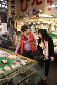 Yukari at Tsukiji 3
