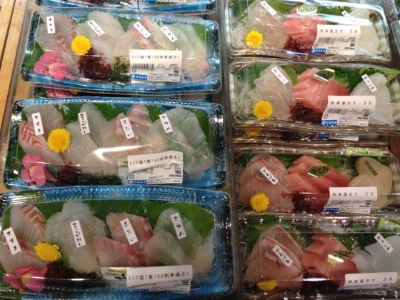 depachika sashimi matsumoto