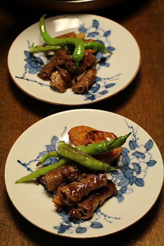 Kyoto Uzuki - sauteed beef with sansho