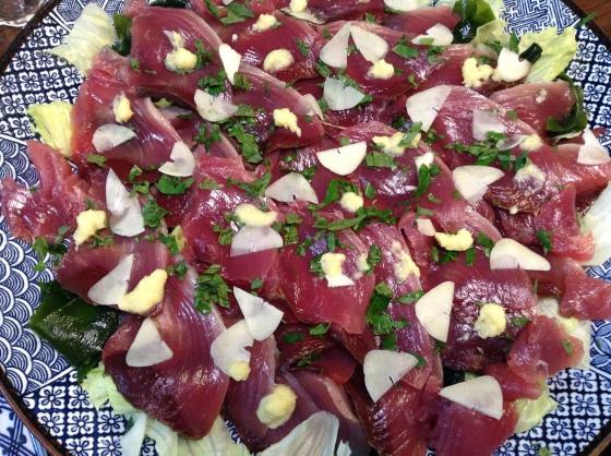 katsuo sashimi