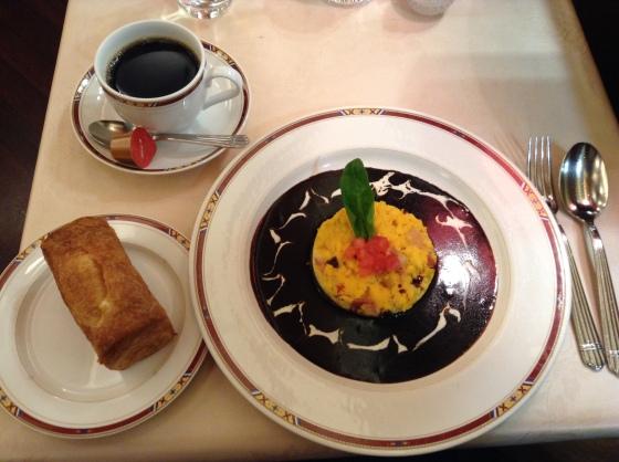 Tokyo Station Breakfast