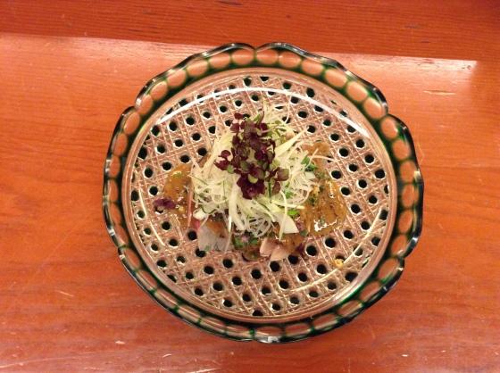 Nihonbashi Yukari - summer lunch sashimi