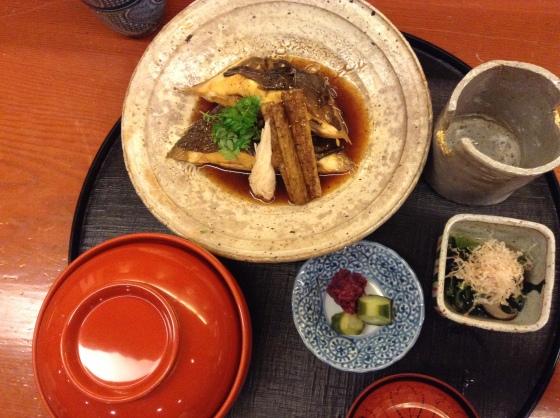 Nihonbashi Yukari - summer lunch simmered meitagarei