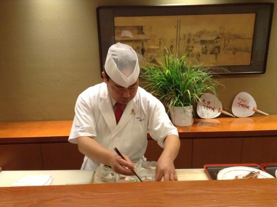 Nihonbashi Yukari - summer lunch