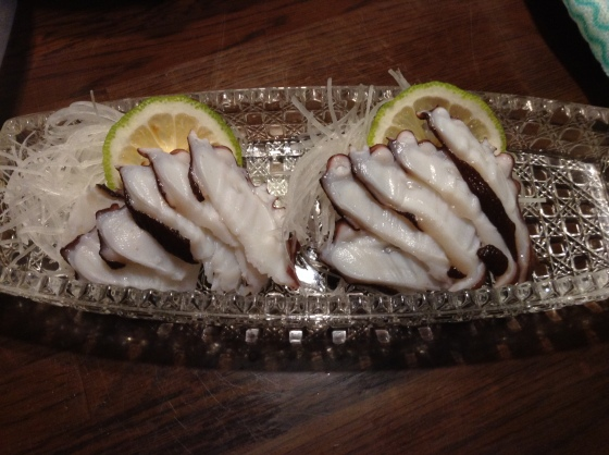 tako sashimi
