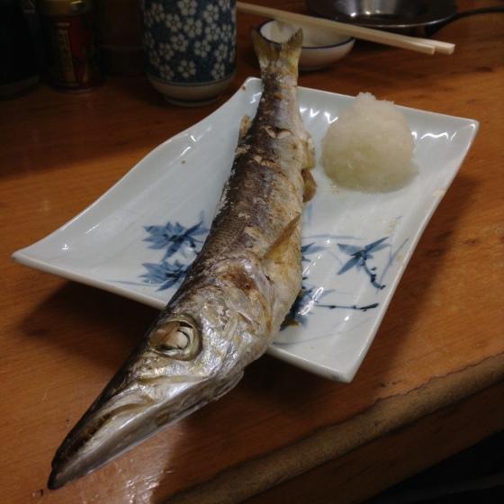 Take no Shokudo - yaki kamasu