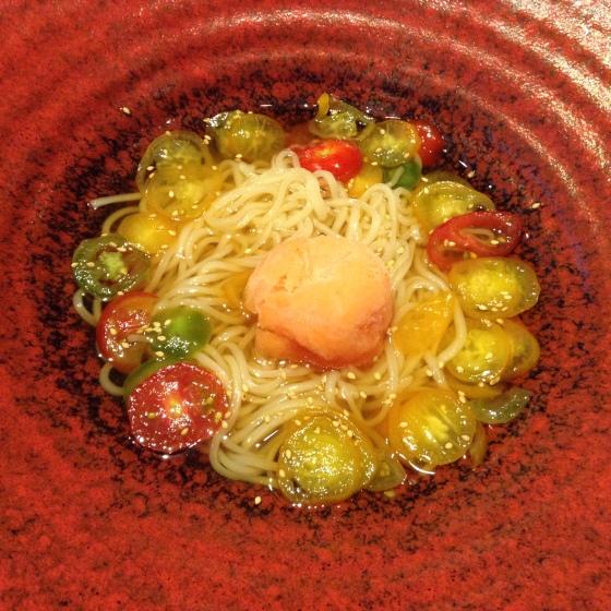 Tsurutontan tomato udon