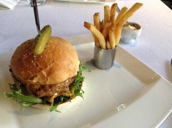 Ruby Jack's burger