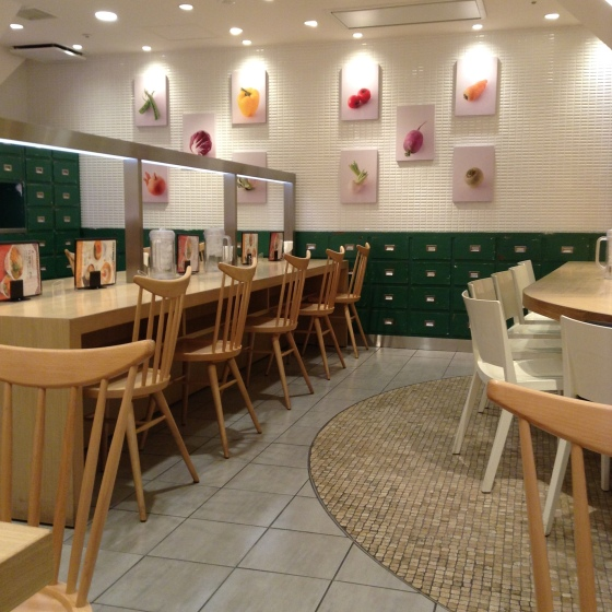 ramen - vegetarian T's interior