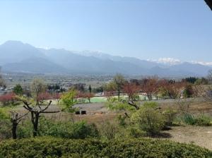 Azumino Okina Soba view