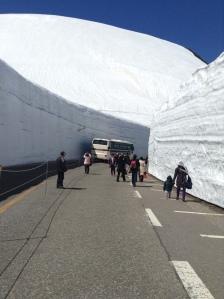 Tateyama Kurobe Snow Wall