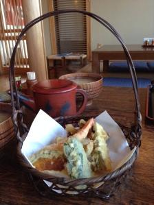 Nagano No no Hana tempura