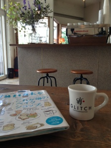 Communal table at Glitch