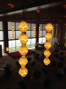 Hotel Okura Lantern Lamps