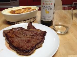 Sakura Masamune Bonds Well with Beef