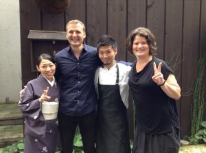 Phil Rosenthal at Zaiyu Hasegawa's Den