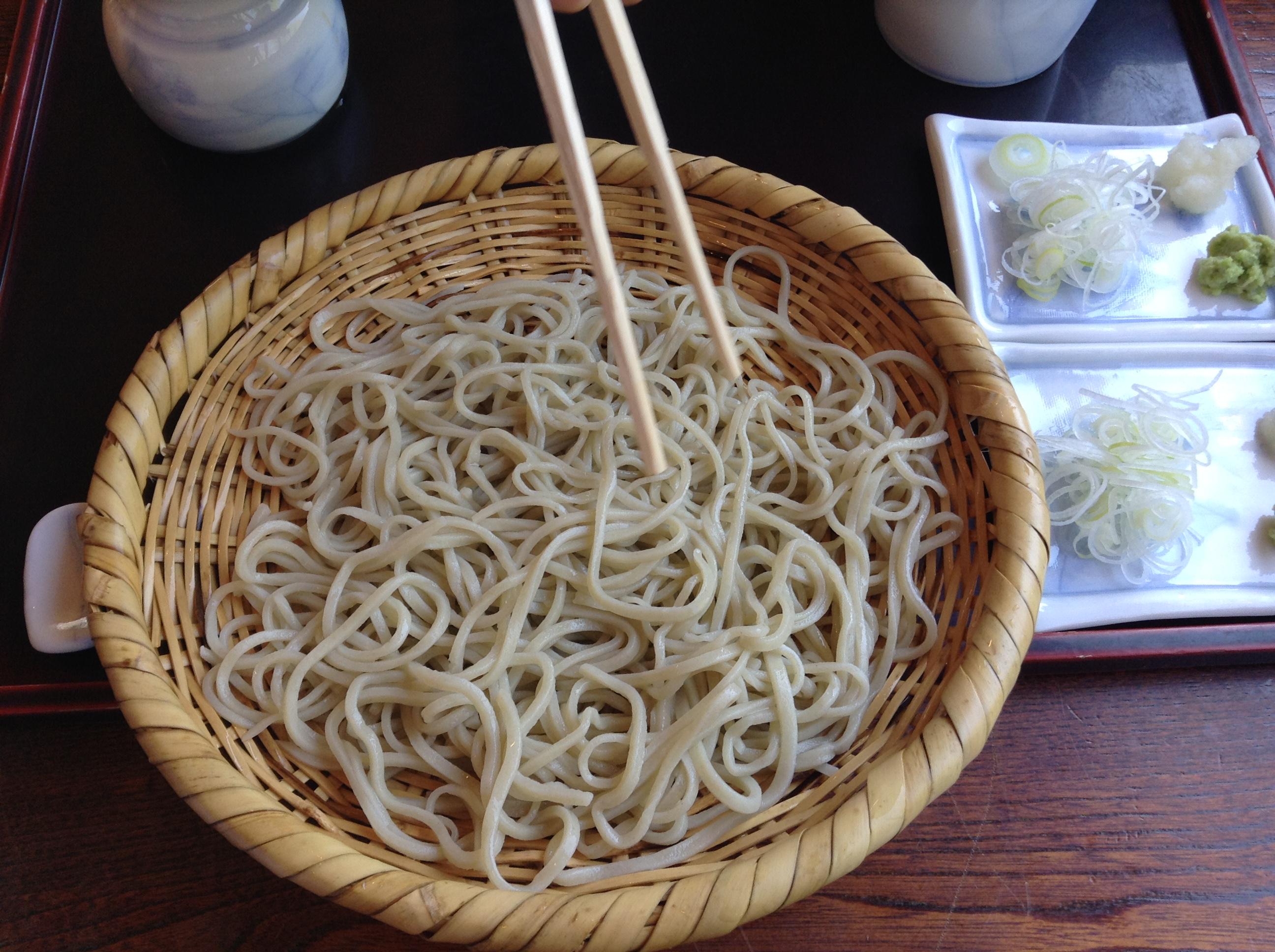 Toshikoshi Soba – End of Year Soba | Food Sake Tokyo