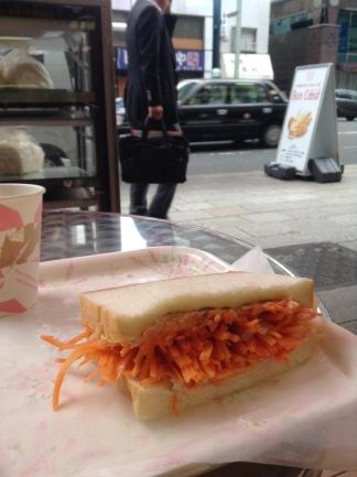 Bon Coeur carrot sandwich