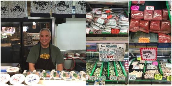 Mr Nakamura and seafood