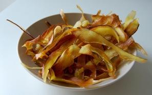crispy sweet potato chips