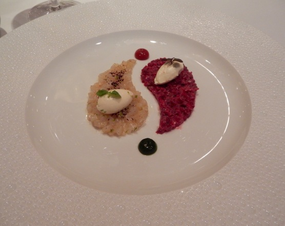 Menard Scallops and Beets